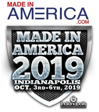 Made in America 2019, Oct. 3-6, Indianapolis (PRNewsfoto/Anything But Advertising LLC)
