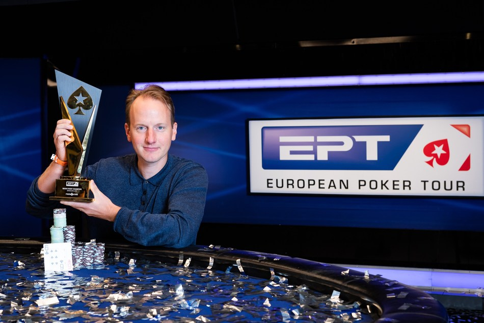 EPT Barcelona Main Event winner Simon Brandstrom
