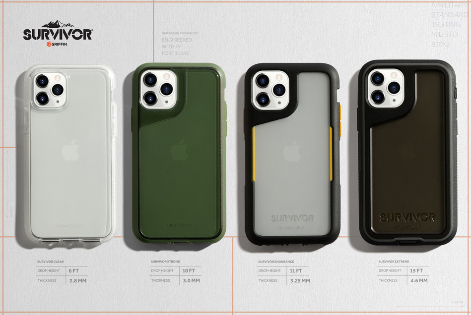 Survivor Range of Cases Now Available for iPhone 11, iPhone 11 Pro and iPhone 11 Pro Max