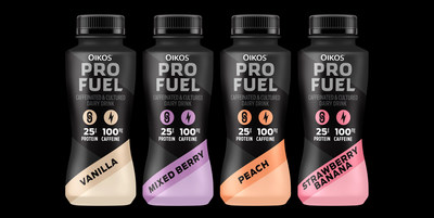 Oikos® Pro Fuel protein-packed caffeinated dairy beverage