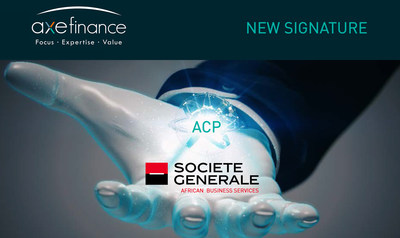 Société Générale signature with axefinance