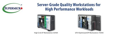 Supermicro Expands High-Performance SuperWorkstation System Portfolio with Launch of New Solution