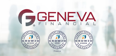 Geneva Financial named one of the fastest growing companies in the United States