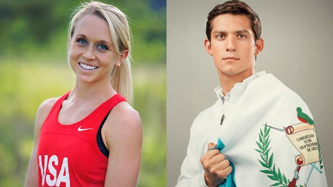 Shaklee Welcomes Two Modern Pentathlon Elite Athletes to the Pure Performance Team -- Samantha Achterberg (left) and Charles Fernandez (right)