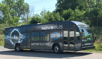 Nova Bus LFSe (CNW Group/Nova Bus)