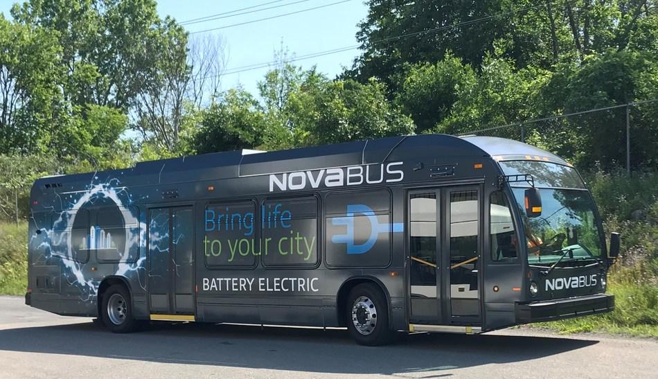 Nova Bus LFSe (CNW Group/Nova Bus)
