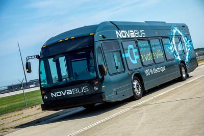 Nova Bus LFSe (Groupe CNW/Nova Bus)