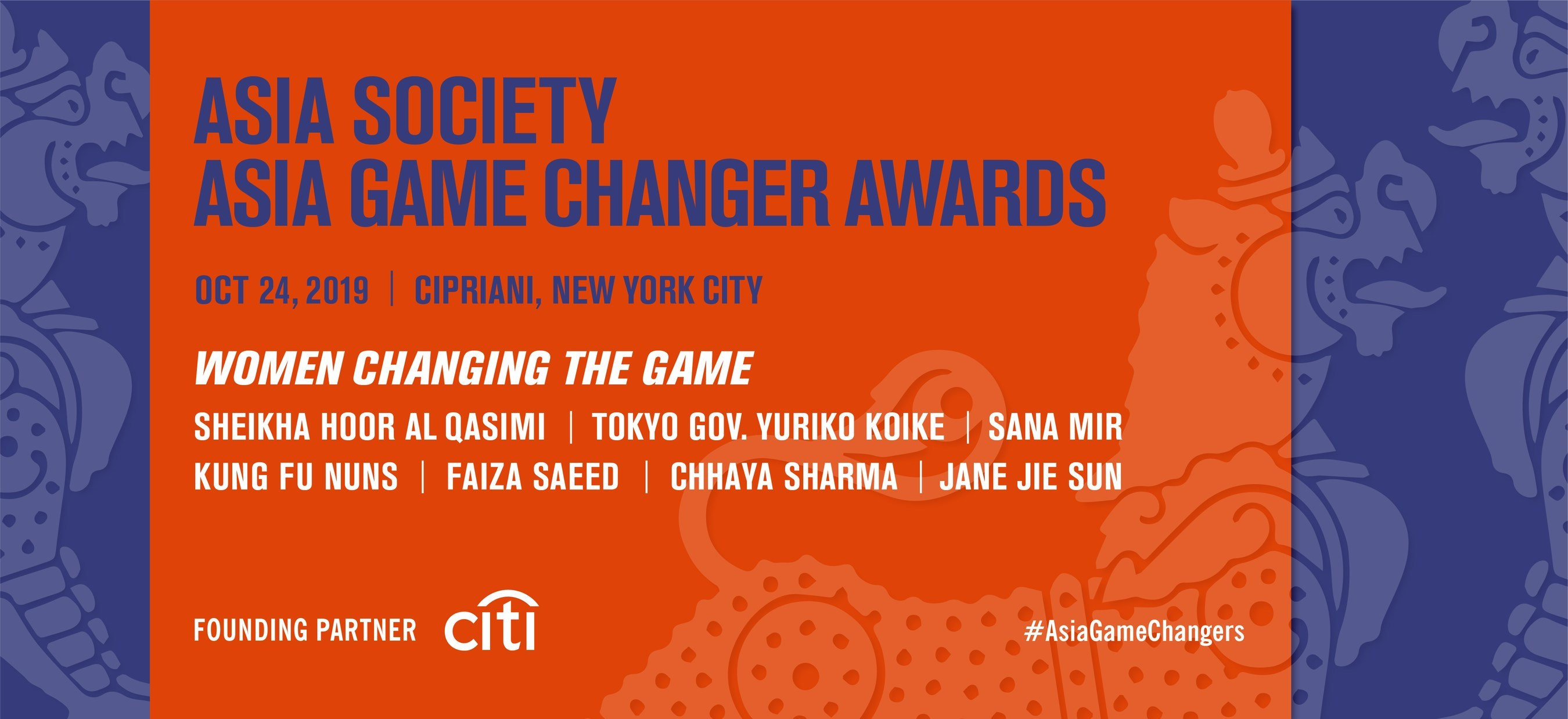 Asia Society Announces All-Female Asia Game Changer Awards