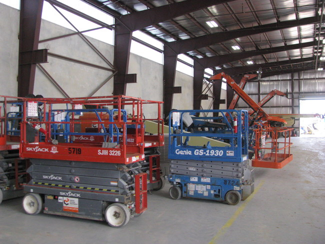 Tiger Group is liquidating rental fleet from Aerial Access Equipment as part of company's wind-down.