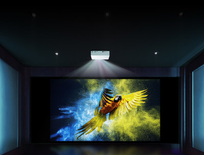 The HU70LA joins the recently debuted LG CineBeam Ultra Short Throw 4K UHD Laser Projector (model HU85LA) in LG's portfolio of critically-acclaimed smart home cinema solutions.
