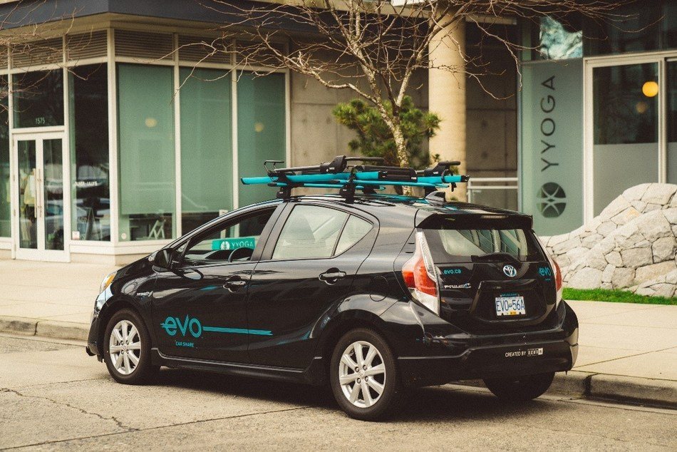 Evo Car Share offers free metered parking – a first in Vancouver (CNW Group/British Columbia Automobile Association (BCAA))