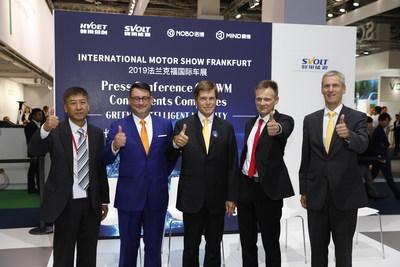 HYCET, fabricante chino de componentes clave para automóviles, presentó sus últimas innovaciones en la feria IAA 2019