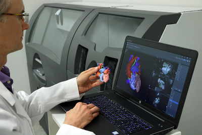 3D Systems' D2P FDA cleared software allows clinicians to 3D print diagnostic patient-specific anatomic models.