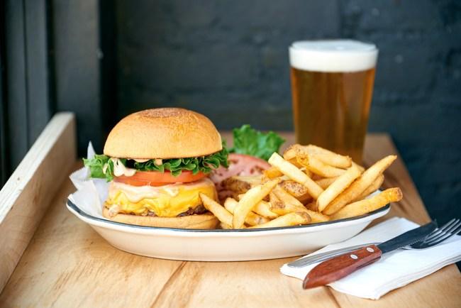 Black Tap Craft Burgers & Beer All-American Burger