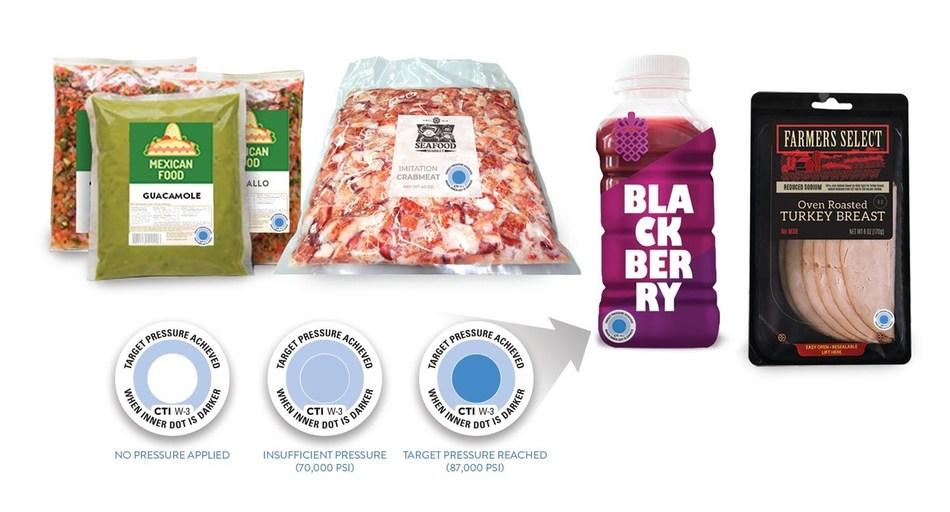 BlindSpotz™ Technology Validates Proper Pressure and Time for Single Packages