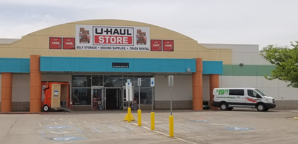 U-Haul® is revealing details for its adaptive reuse of the former Kmart® building at 1080 S. Hwy. 118 in Richfield.