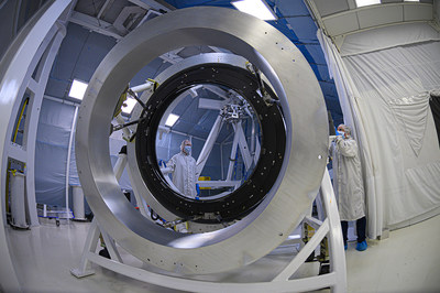 Ball Aerospace has shipped and delivered the large camera lens assembly to Lawrence Livermore National Laboratory in Livermore, California, which will be incorporated into the Large Synoptic Survey Telescope (LSST), a ground telescope that will sit on top of Cerro Pachón ridge, an 8,800-foot mountain in Chile.