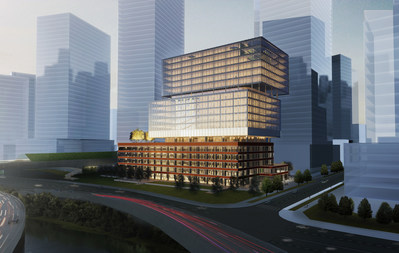 Rendering of the Soap Factory (CNW Group/Cadillac Fairview Corporation Limited)