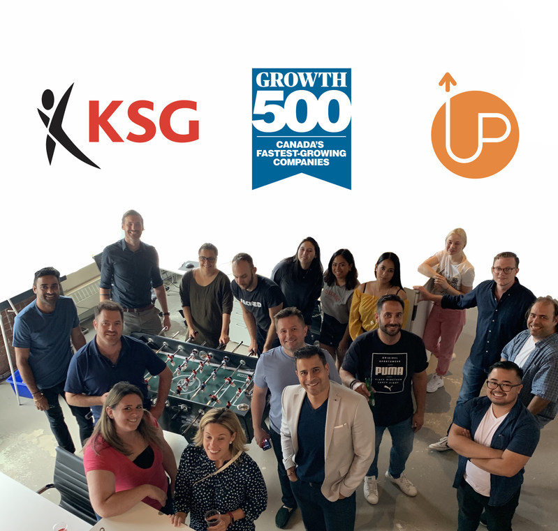 KSG Ranks No. 117 on the 2019 Growth 500 (CNW Group/KSG)