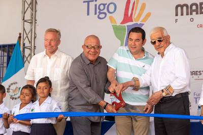 Marc Anthony and Henry Cardenas, co-Founders of The Maestro Cares Foundation, announce along with its partners and supporters the opening of 4 projects serving 1000+ orphaned and disadvantaged children in El Salvador, Guatemala and Colombia