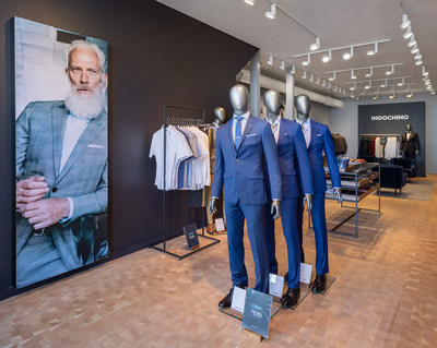 INDOCHINO achieved five-year revenue growth of 383%, fuelled by North America retail growth, international expansion and product expansion. (CNW Group/Indochino Apparel Inc.)