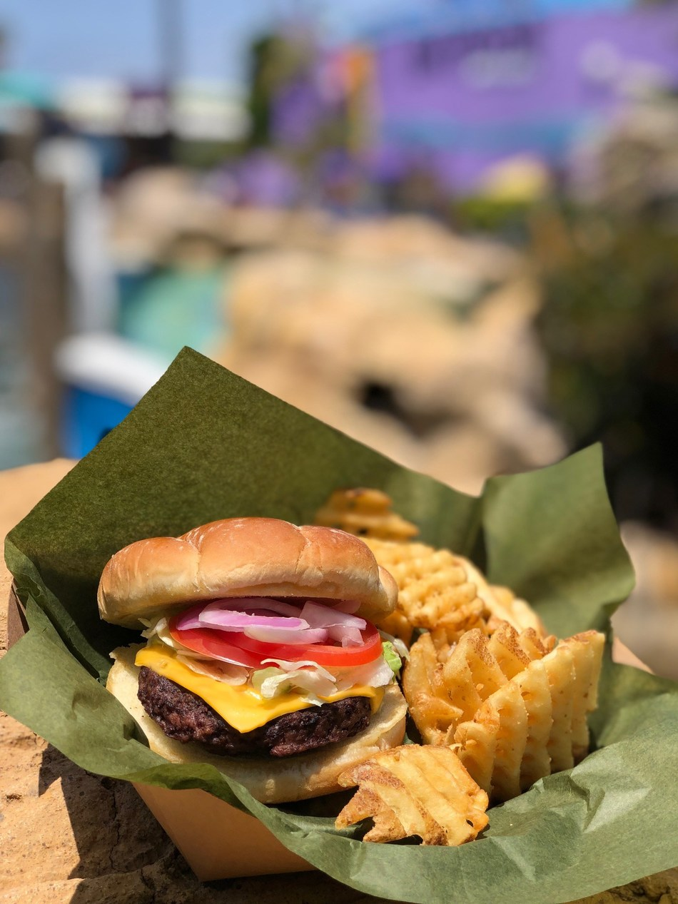 SeaWorld Parks today announced that it is adding the Impossible™ Burger to menus at all SeaWorld, Busch Gardens, Sesame Place and Water Parks (Aquatica, Adventure Island and Water Country USA) across the country. This large-scale culinary addition further supports SeaWorld's commitment to providing guests with sustainably sourced food and its mission to protect the environment across all aspects of its operations.