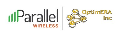 Parallel Wireless and OptimERA Inc. logo.
