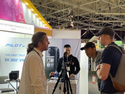 IBC 2019 - Pisoftware Reinvents VR Industry with Ambitious Panoramic Camera