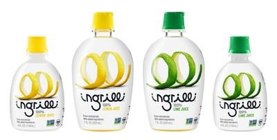 Ingrilli Citrus, Inc .- Ingrilli™ 100% Lemon Juice and Ingrilli™ 100% Lime Juice