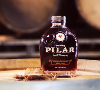 Papa's Pilar Marquesas Blend Rum Finished in Whiskey Barrels