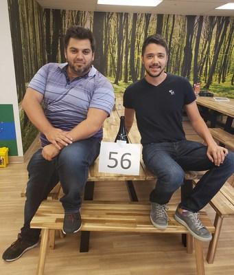 Growth500 croissance de 1552% - Les montréalais québécois, Benjamin Paradis et Kevin Perry, Fondateurs de CyberPublicity (Groupe CNW/CyberPublicity)