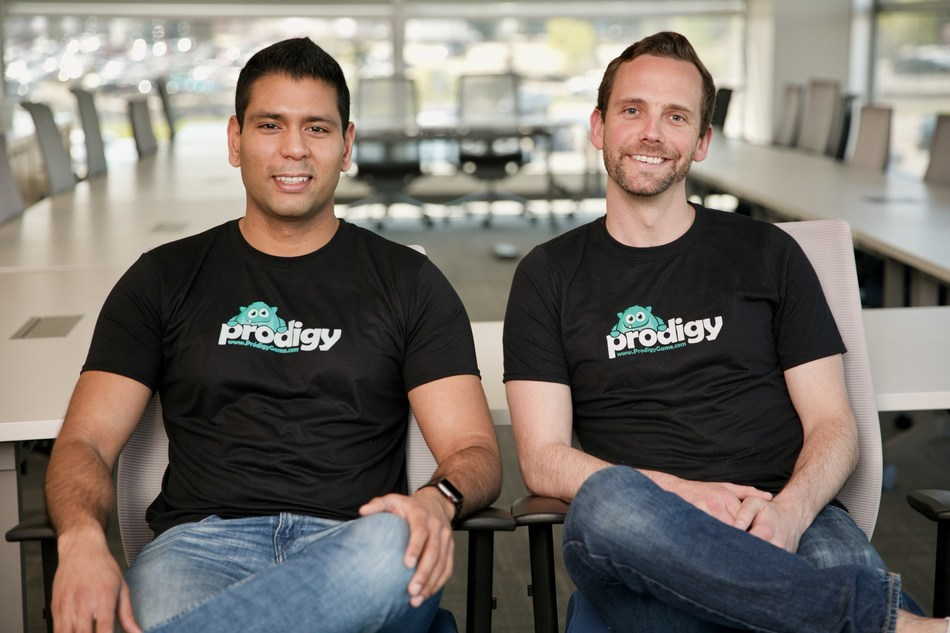 Alex Peters and Rohan Mahimker, Co-CEO's of Prodigy Education (formerly Prodigy Game) (CNW Group/Prodigy Education)