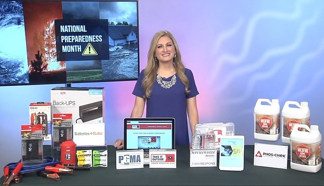 Cheryl shares her tips on how to prepare for extreme weather during National Preparedness Month!