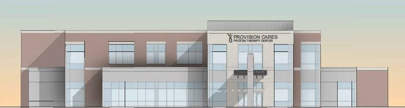Rendering of Provision CARES Proton Therapy Center Kansas City