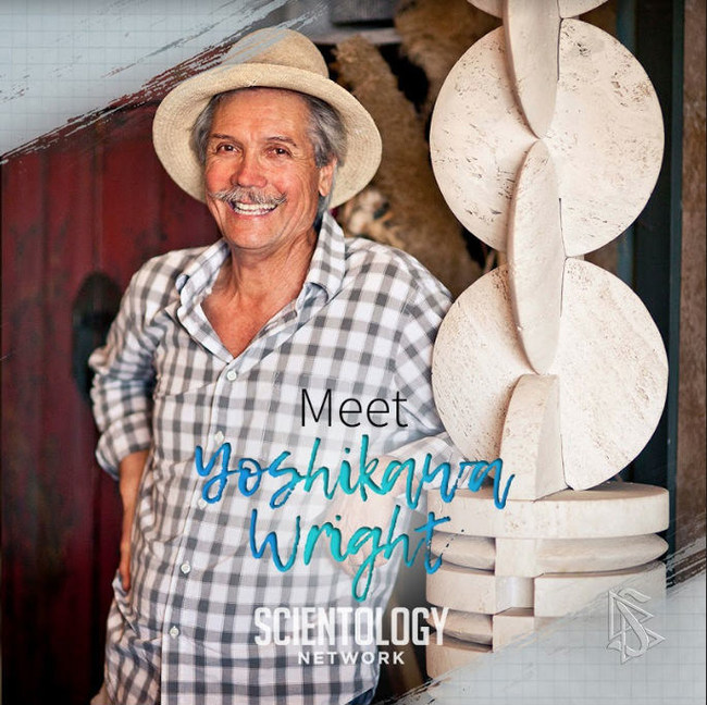 Scientology Network announces an episode of Meet a Scientologist featuring award-winning sculptor Yoshikawa Wright.