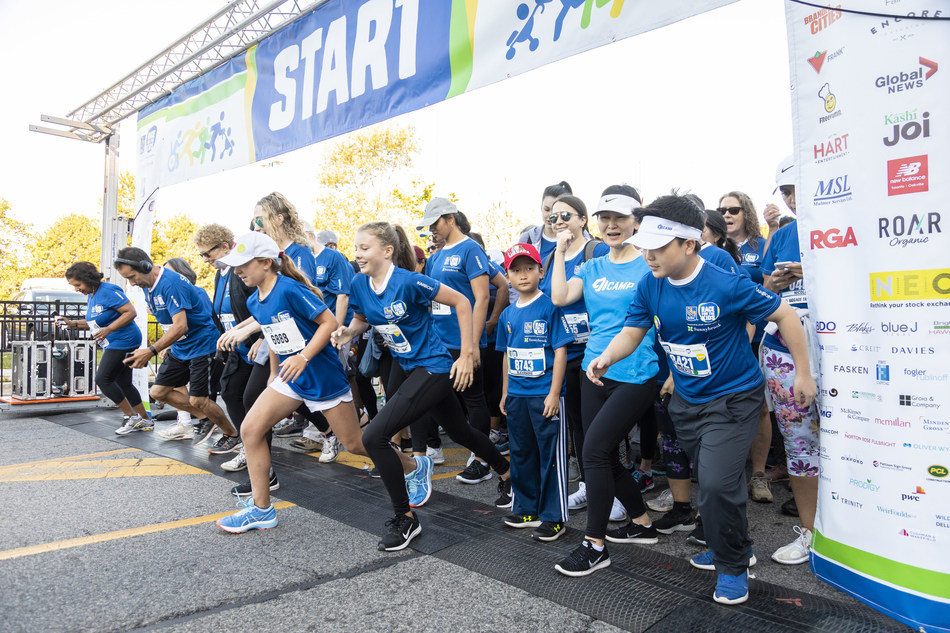 More than 9,400 Torontonians stepped forward for youth mental health. (CNW Group/Sunnybrook Health Sciences Centre)