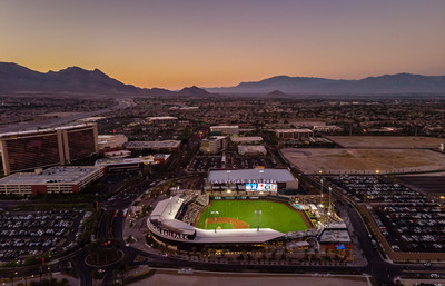 Las Vegas Ballpark® in the heart of Downtown Summerlin® Photo courtesy of The Howard Hughes Corporation®