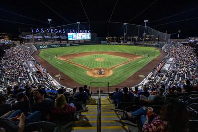 Las Vegas Ballpark® Photo courtesy of The Howard Hughes Corporation®