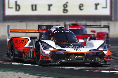 Acura Team Penske Dominates at Laguna Seca