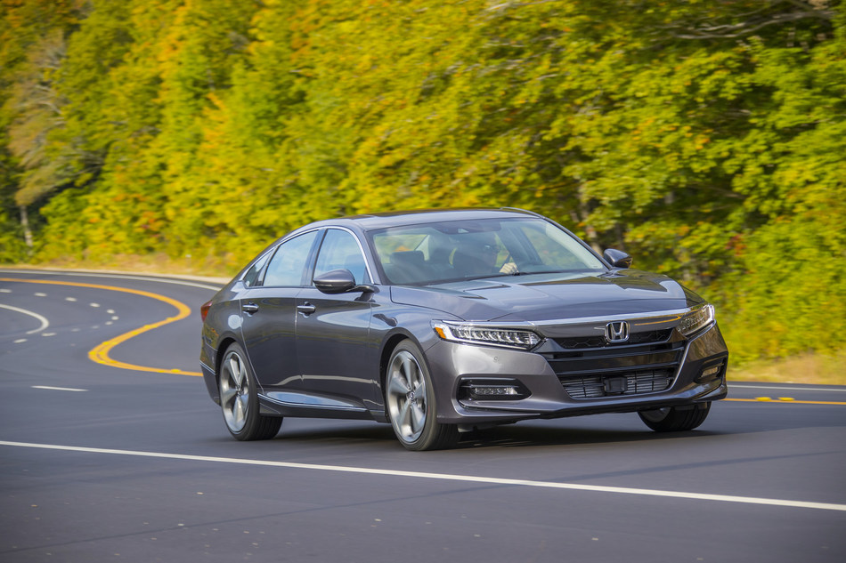 With a choice of two turbocharged engines, standard Honda Sensing®, and a spacious and high-tech interior, the 2020 Honda Accord begins arriving at dealer showrooms tomorrow, September 17, with a starting Manufacturer's Suggested Retail Price (MSRP) of $23,870 (excluding $930 destination and handing).