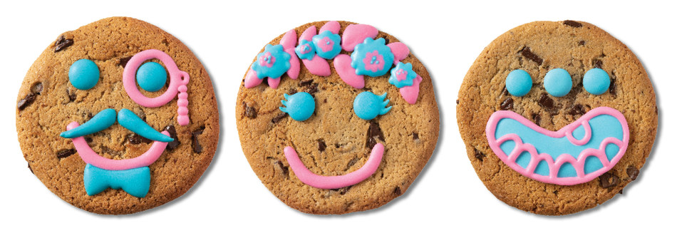 A few of a few of the unique designs that the cookie artist will be making at Tim Hortons 130 King. (CNW Group/Tim Hortons)