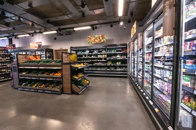 Trigo technology deployed in a supermarket