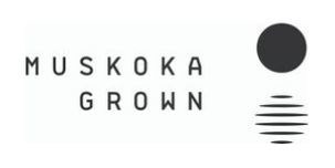 Muskoka Grown Logo (CNW Group/Muskoka Grown Ltd)