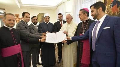 Pope Anjur Mesyuarat Bersejarah dengan Jawatankuasa Tinggi Persaudaraan Manusia