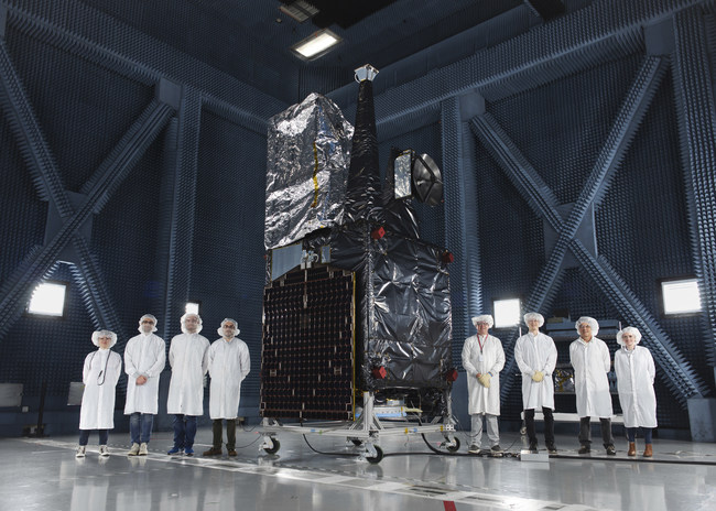 Wide Field of View Satellite at Boeing's Space Environment Test Facility in El Segundo