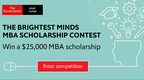The Economist GMAT Tutor's $25,000 MBA Scholarship Contest Is Open