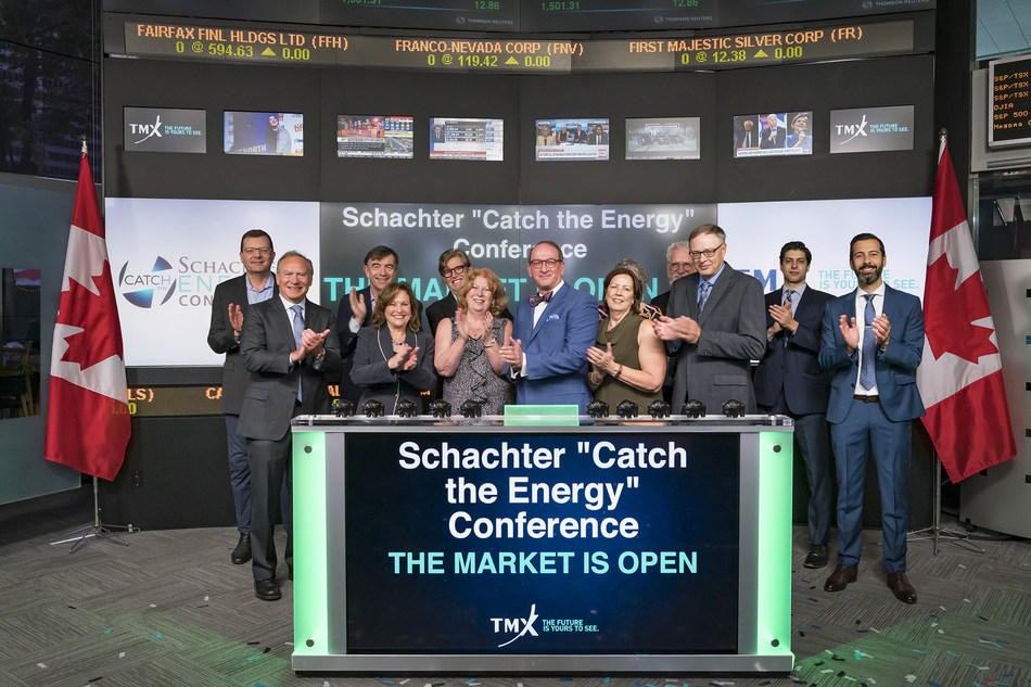 """Schachter """"Catch the Energy"""" Conference Opens the Market (CNW Group/TMX Group Limited)"""
