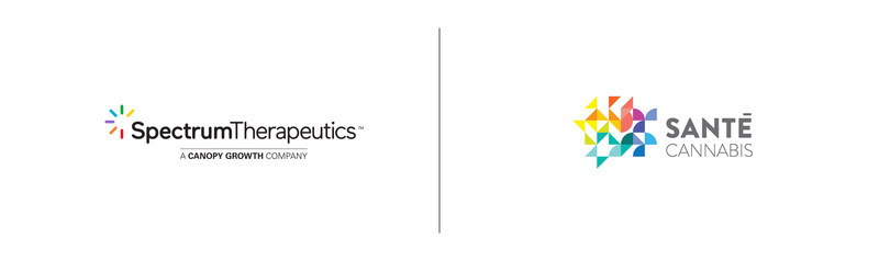 Logo : Santé Cannabis and Spectrum Therapeutics, the medical division of Canopy Growth (CNW Group/Canopy Growth Corporation)