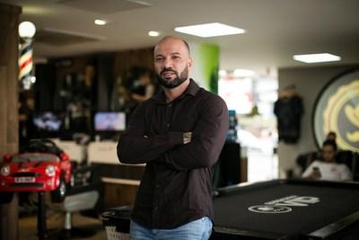 Victor Conceição, CEO da rede Barbearia Vip