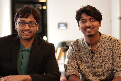 Jay Lohokare (left) and Ajit Rajurkar created Sparrow, a platform that connects those in need to a number of critical services during a disaster, including access to medical records or real-time advice from a doctor. The team's cloud-native approach makes it easy to connect with several types of healthcare services.
